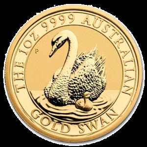 Investiční zlato, australská mince Černá labuť