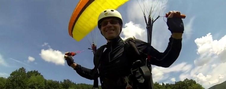 Dárek pro manžela je paragliding